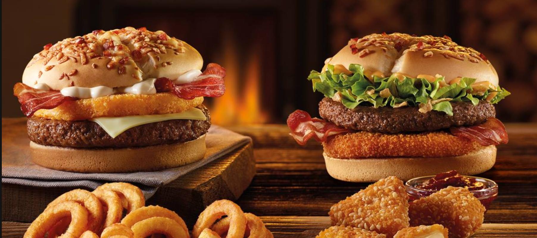 Lumberjack Burger mitikoa itzuli da.  Aurtengo McDonald's ogitarteko onena ere eros dezakezu haragirik gabe