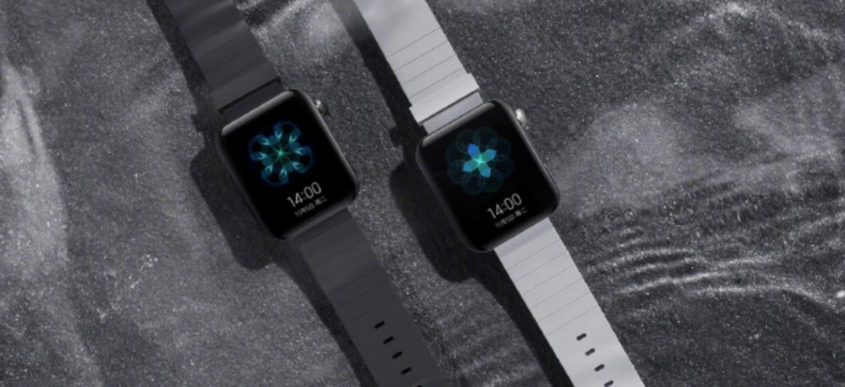 Eta zergatik konplexu hau Apple'Eta?  Hau da Xiaomi Mi Watch - ale bitxi bat Apple Watcha