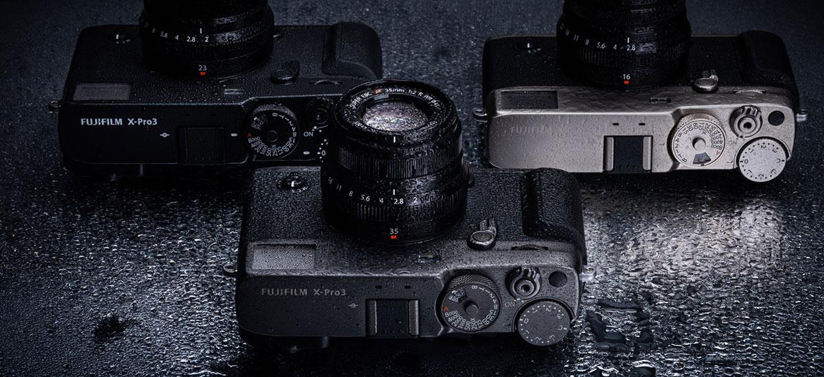Fujifilm X-Pro 3 argazkigintzaren erroetara itzultzeko modu digitala eta garestia izatea da