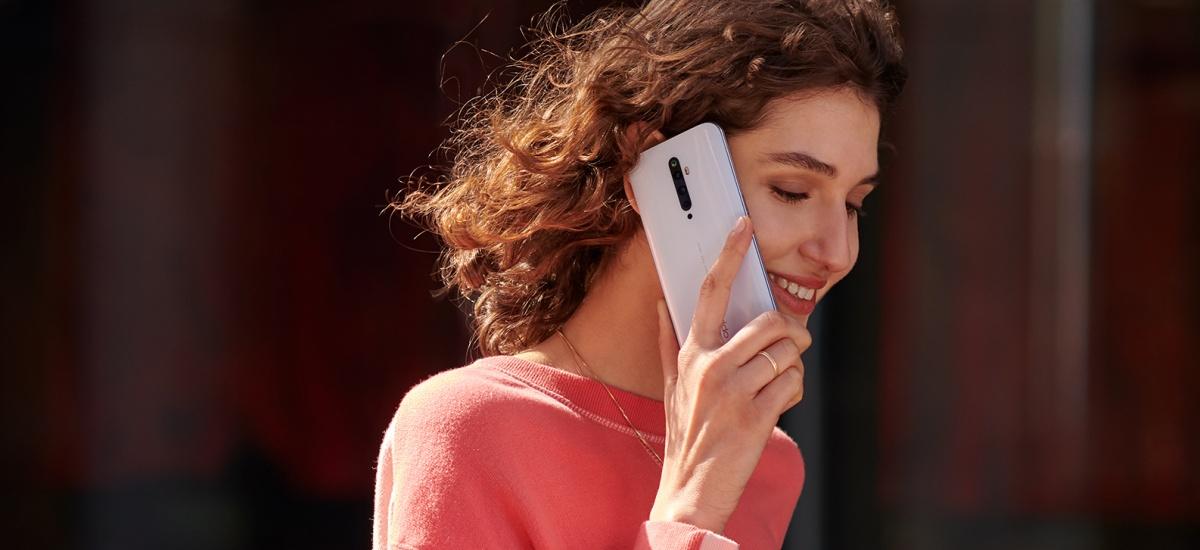 Oppo Reno 2Z ofizialki Polonian.  PLN 1.700ra arte smartphone bikaina bilatzen baduzu, aurkitu berri duzu