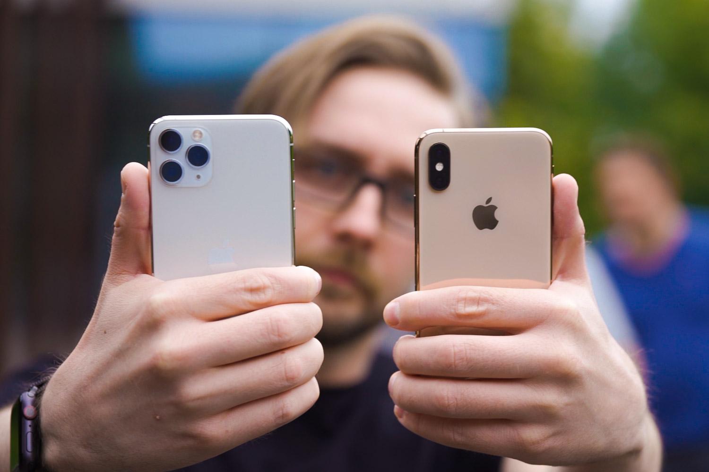 iPhone 11 Pro - urtero iPhone berri bat erosten duen gizonaren begirada berrikustea