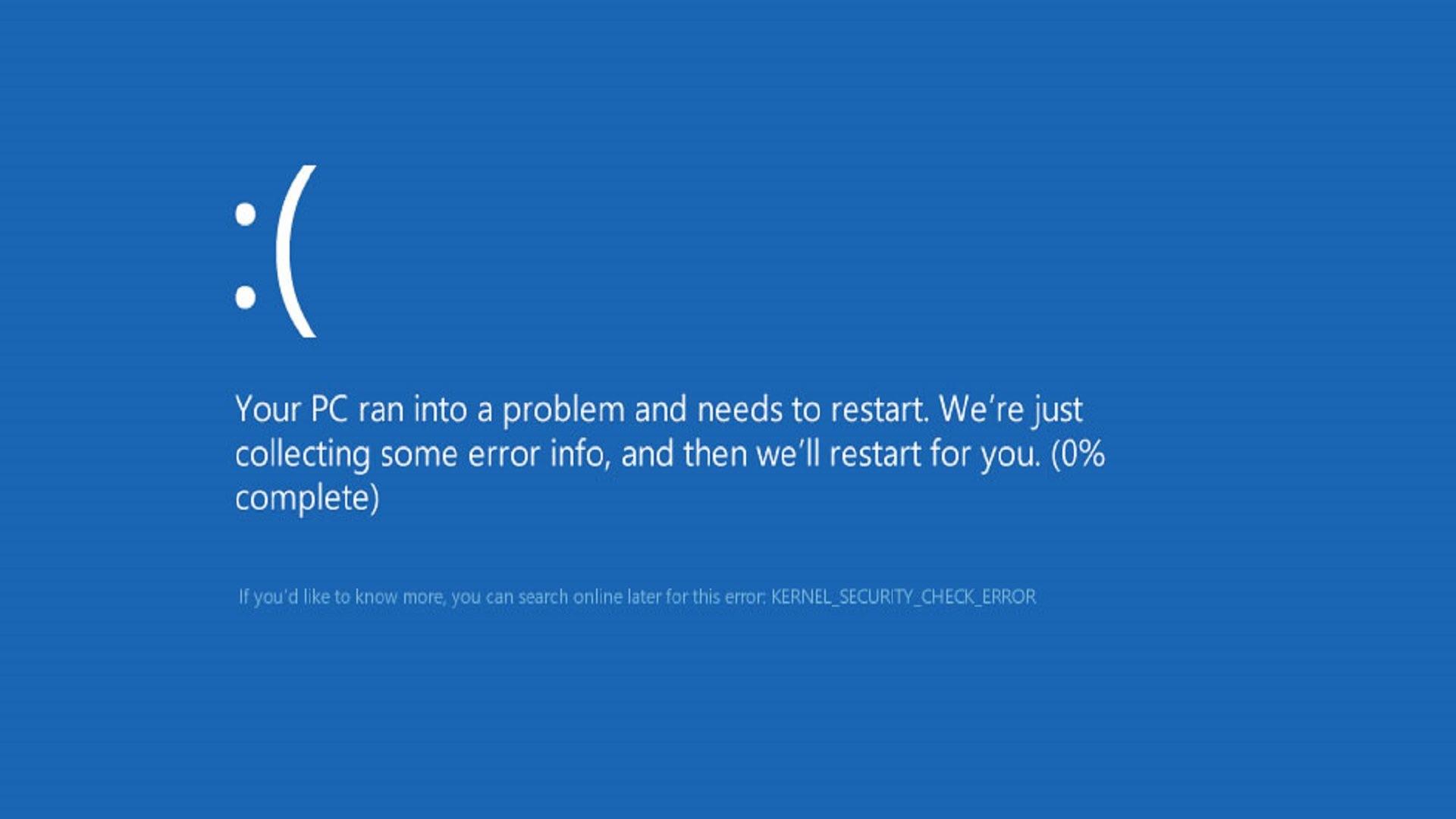 Windows eguneratzeen kalitatea igo daiteke.  Nahasmena eragin duen pertsonak uzten du