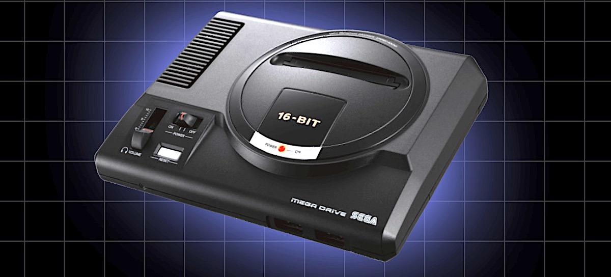 SEGA Mega Drive Mini salgai jarri zen.  Sentimendu hau jolasten duen beste kontsola retro bat da