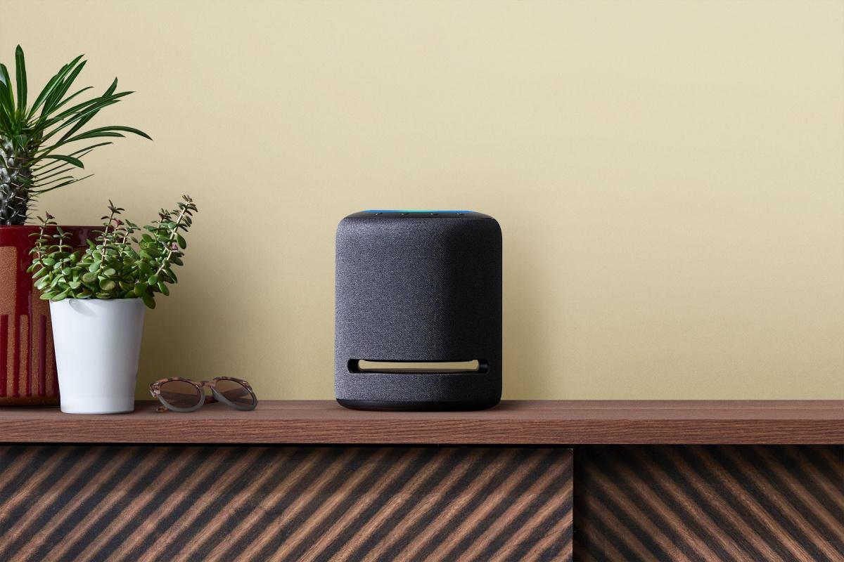 Horrela itxura berria da Amazon Echo Studio