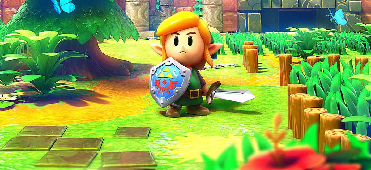 Game Boy arrakasta aurten Switch-en estreinaldirik handiena izan da.  The Legend of Zelda-ren berrikuspena: Link's Awakening