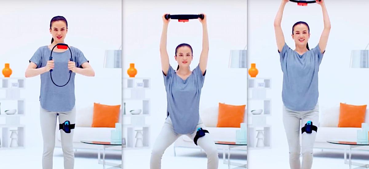 Beharbada kilo batzuk galduko ditut.  RingFit Adventures kontsolatzeko fitness gadget pentsagarria da Nintendo Switch