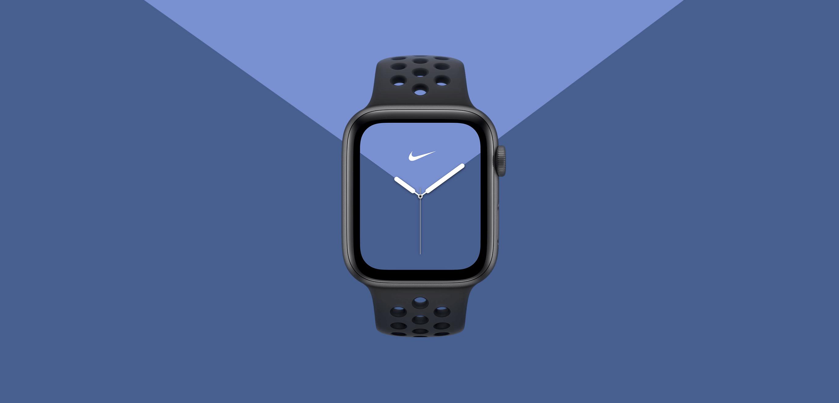 hemen Apple Watch Series 5.  Hemendik aurrera pantailarekin beti piztuta