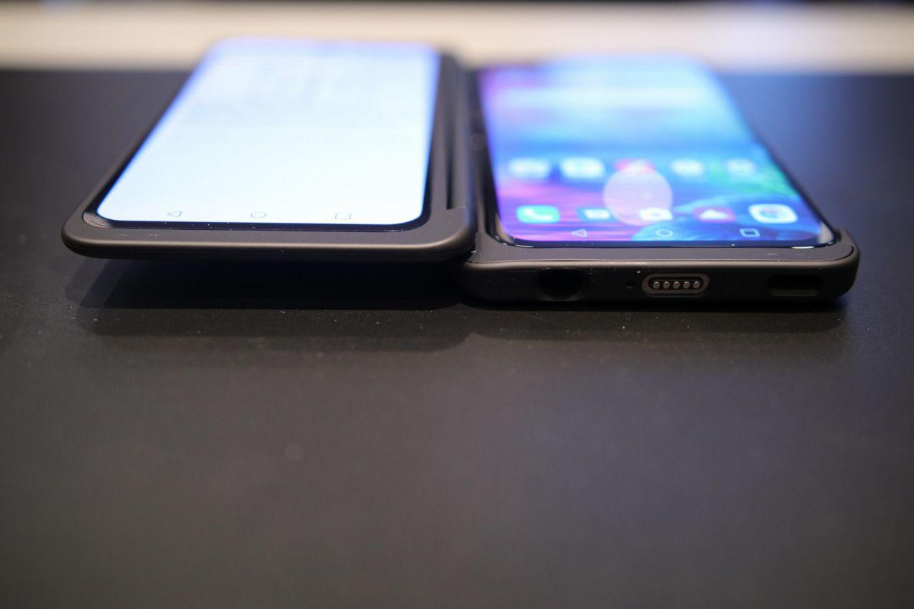 LG G8X ThinQ erantsitako pantailarekin bikain dago - lehen inpresioak