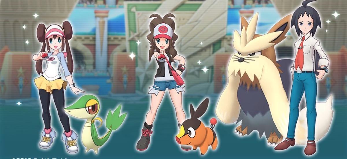 Doako Pokemon Masters orain iOS eta Android.  Hau joko bat da ... Pokemon entrenatzaileak biltzen dira