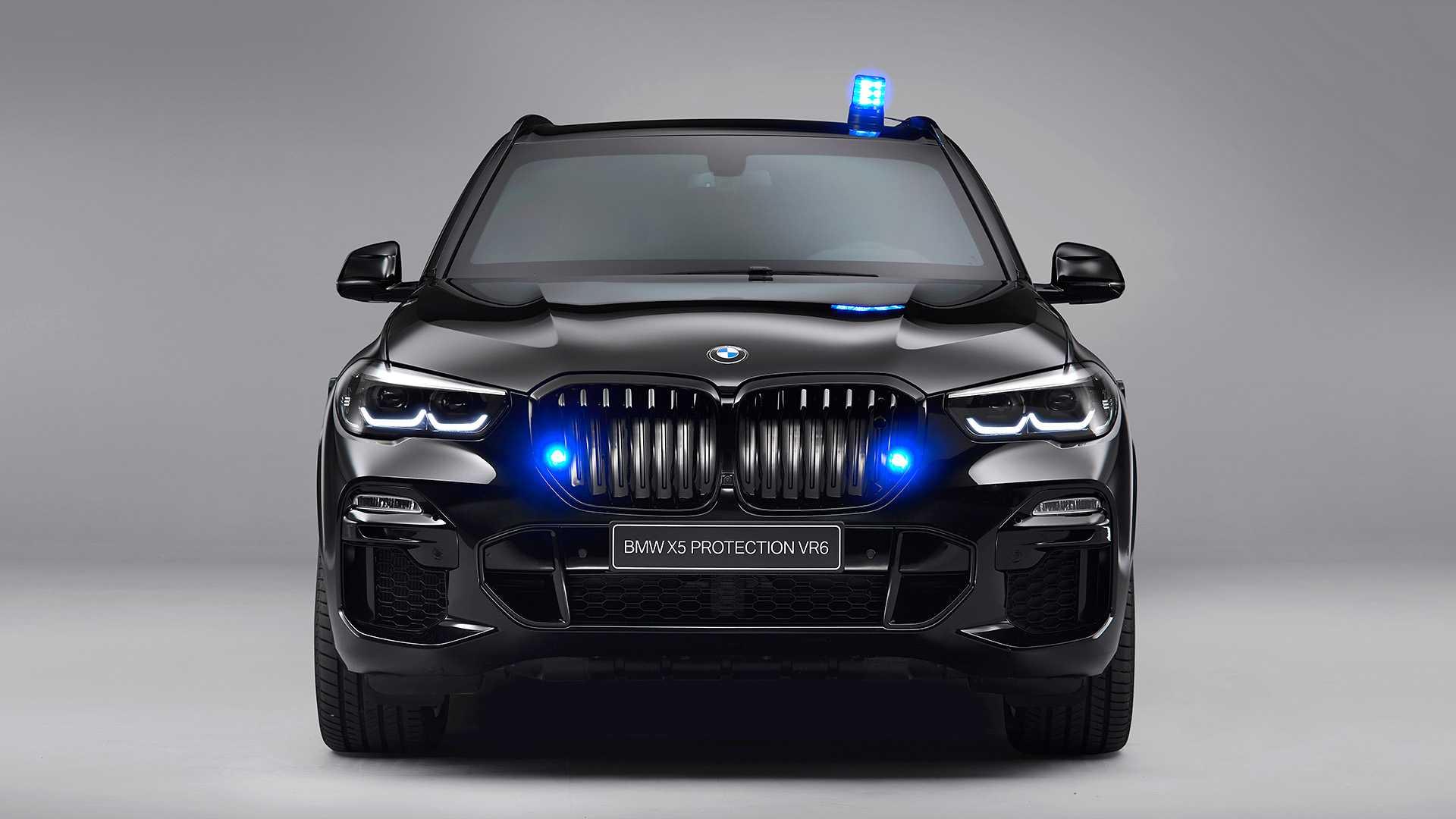 BMW X5 blindatu berria fusil eta ... drone baten erasoari aurre egiteko sortu zen