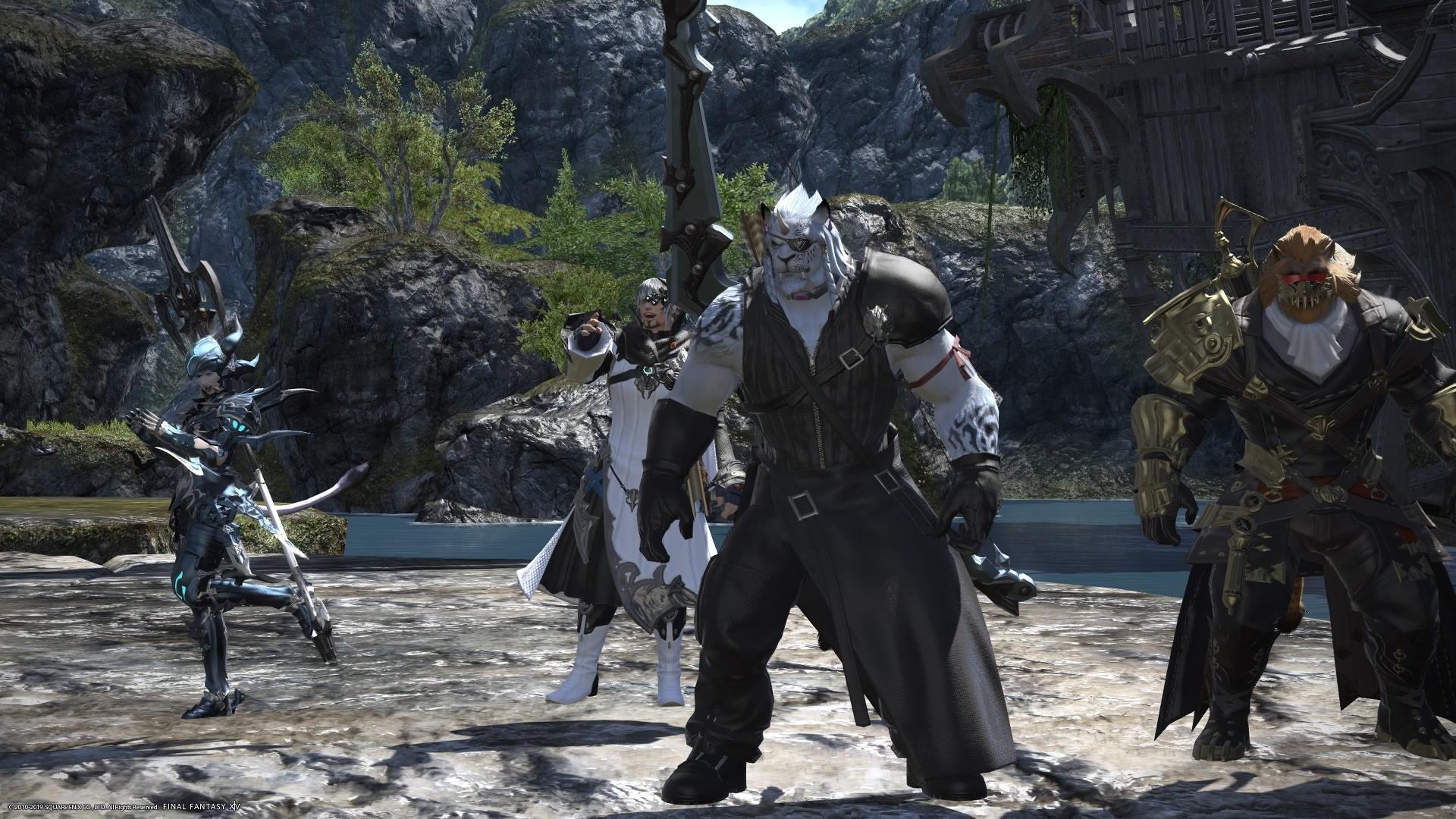 Joko bikain asko ateratzen dira, eta ezin dut MMO Final Fantasy XIV-tik urrundu.  WoW-ek ez zuen horrela atera