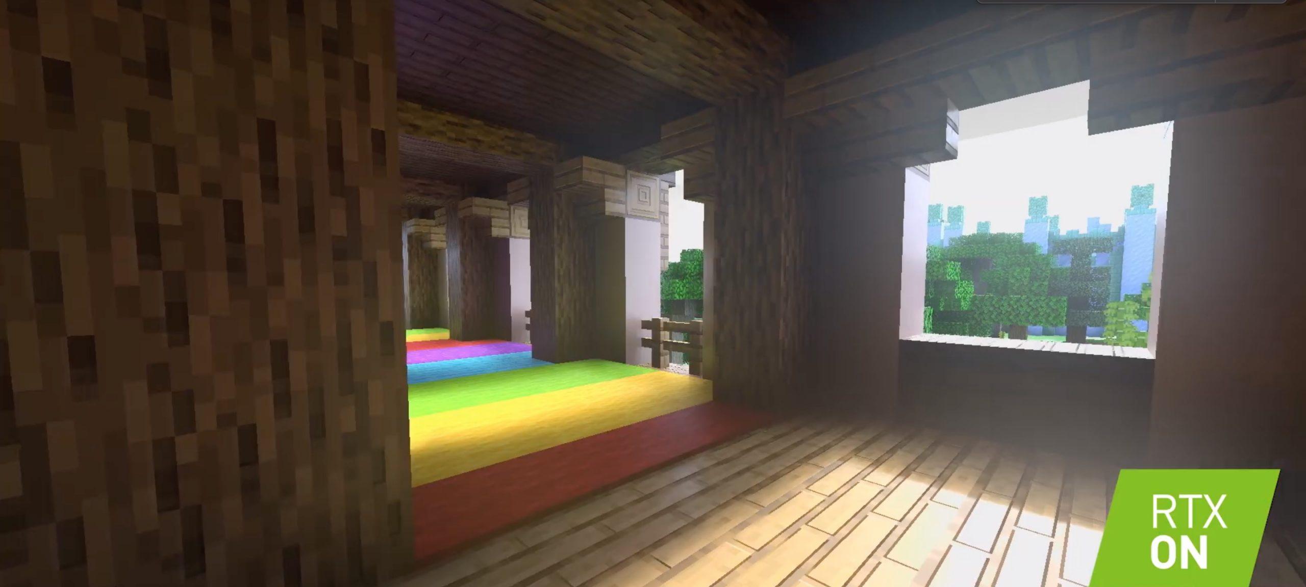 Minecraft-rekin izpi-trazadurarik gabeko aldea izugarria da.  Horrela ikusiko du Minecraft 2020tik aurrera.