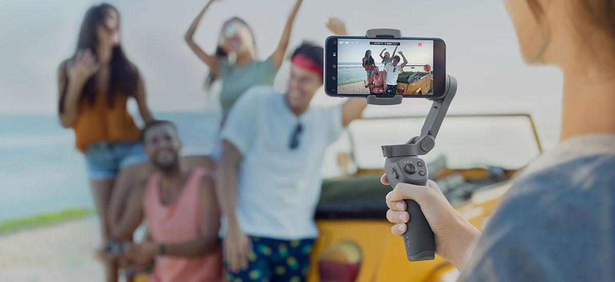 Baina merkea da.  Hemen da DJI Osmo Mugikorra berria 3 - smartphone gimbal tolesgarria