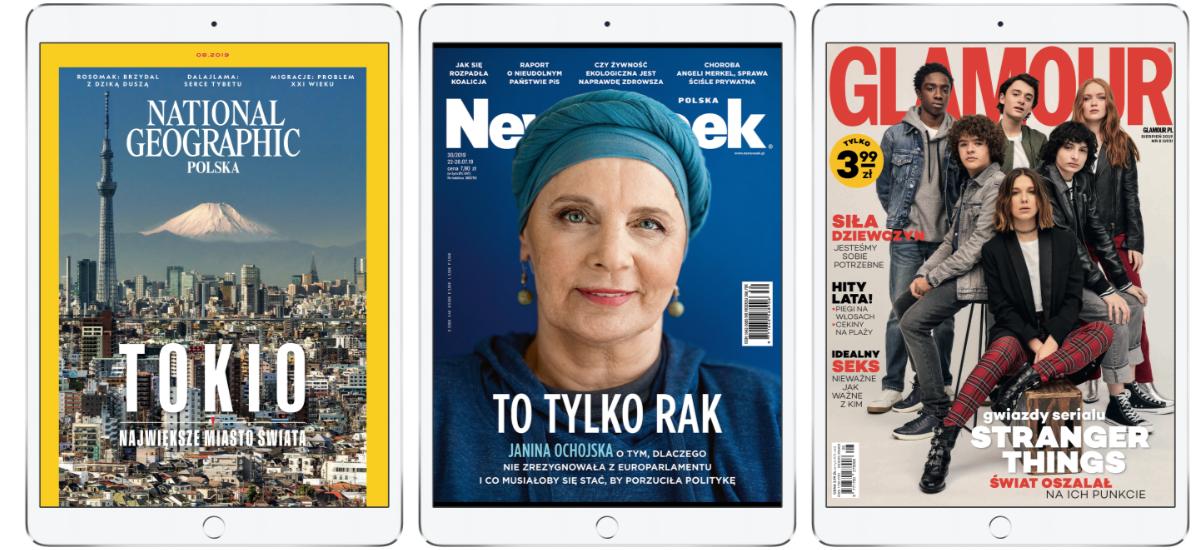 Astea, itxi!  Asteburuko prentsa berrikuspena Publico24 Newsstand-ekin - Poloniako lehen Netflix egunkari eta aldizkarientzako