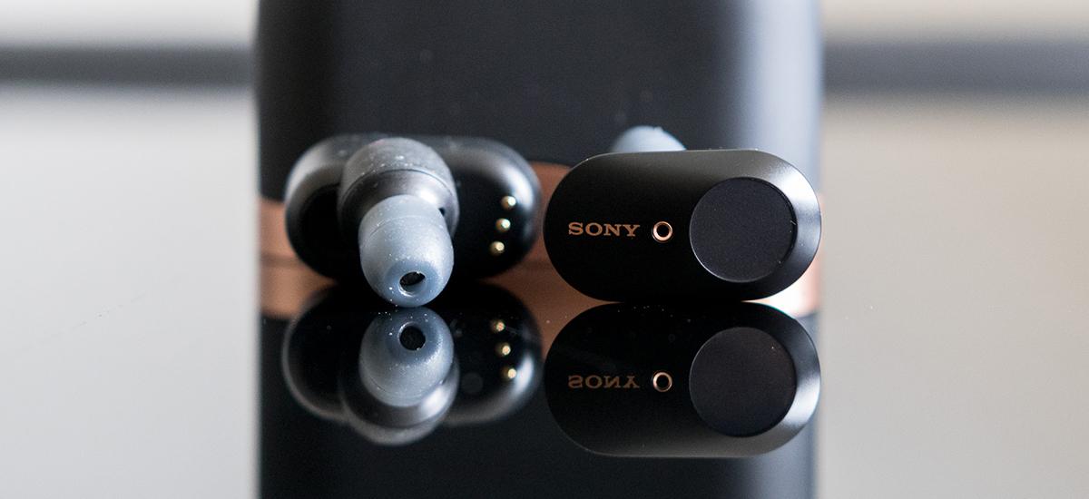 Haririk gabeko aurikularren errege berria, mutu aktiboa dutenak.  Sony WF-1000XM3 - lehen inpresioak
