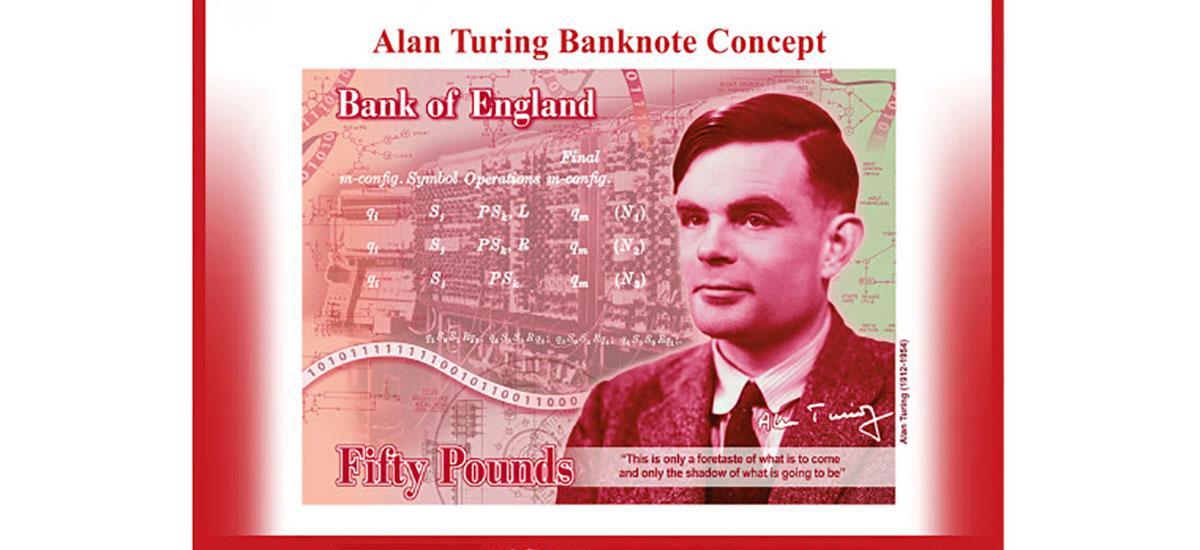 Alan Turing bere buruaz beste egin zuen oharrean agertuko da