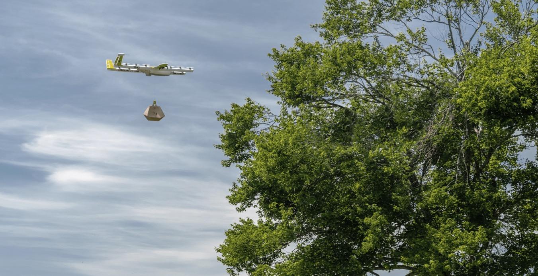 Hanburgesa bat agintzen duzu eta hau drone bidez iristen da.  Hori ez da etorkizuna, Australian egunerokoa