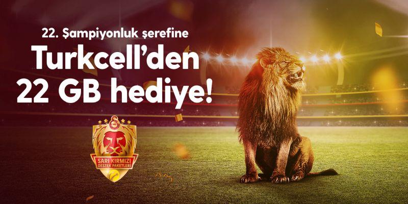 22GB Interneteko oparia Galatasaray zaleentzat