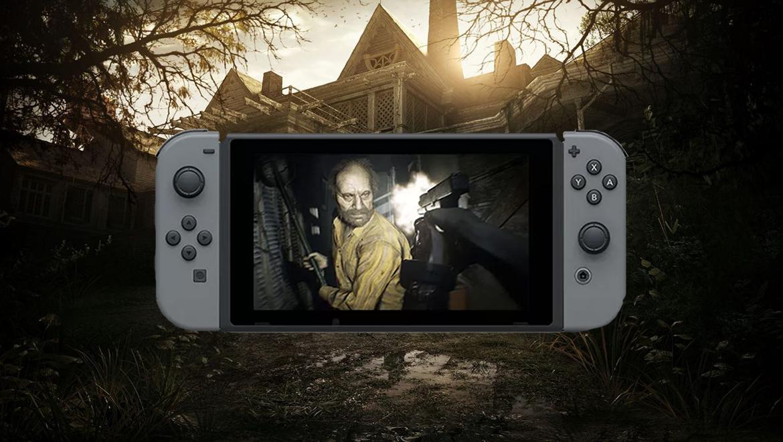 3 Resident Evil jokoa Nintendo Switch zure bila etorri!