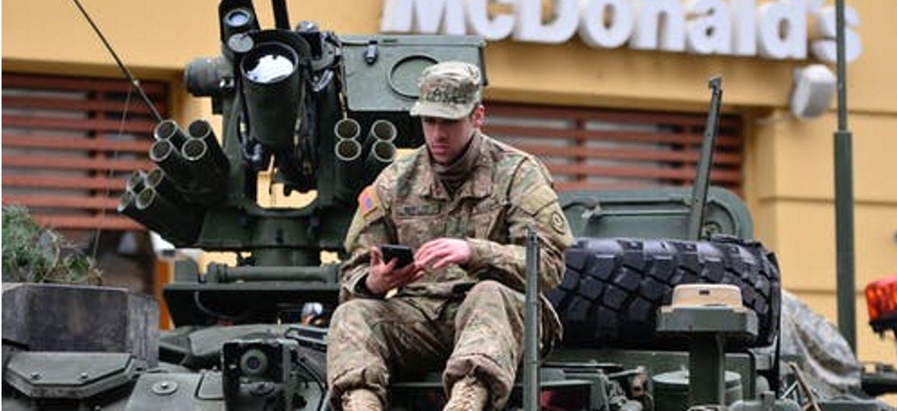 5G probak egiten ditu base militarretan.  Amerikarrek gudu zelaian nola erabili probatzen ari dira