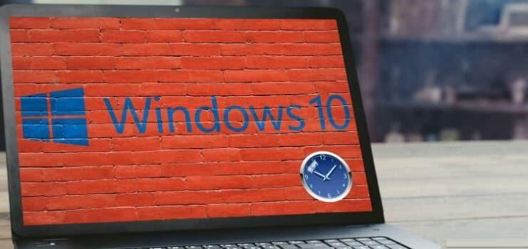 7 Konpondu moduak - denbora ez da eguneratzen edo sinkronizatzen Windows 10