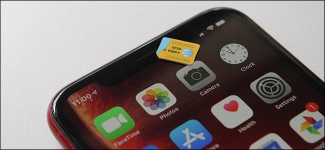 AEB gutxiago: iPhone-en eSIM zirrikitua ez da bateragarria AEBetako eramaileekin. 1