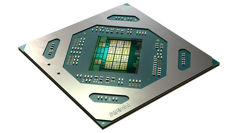 AMD Radeon RX 5300M eta Radeon Pro 5300M - koadernoen grafikoen zehaztapena