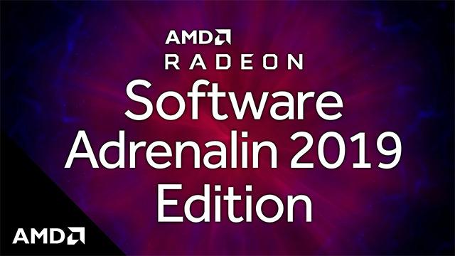 AMD Radeon Software Adrenalin 2019 19. edizioa.7.4 - adabaki garrantzitsua duten gidariak