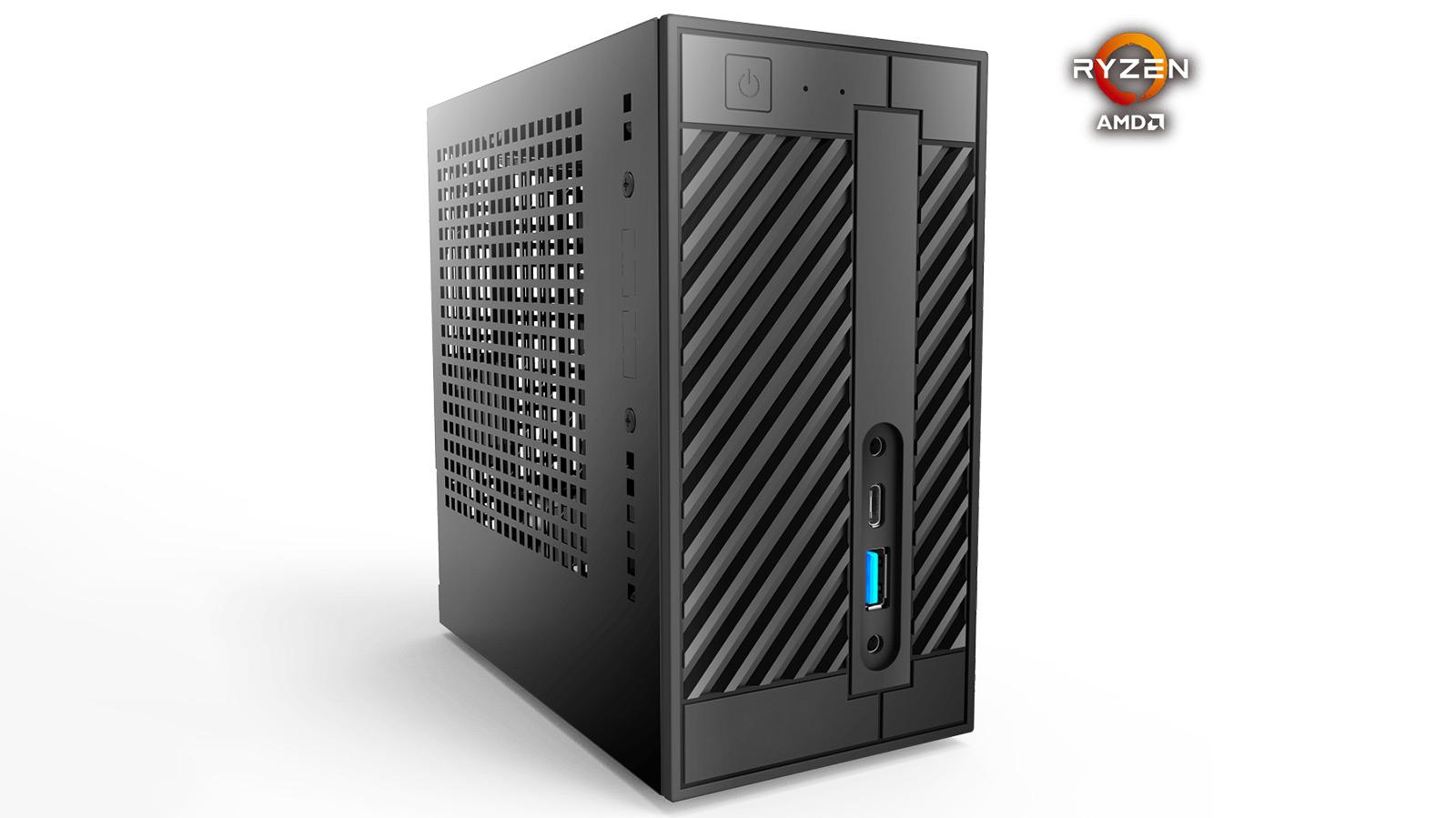 ASRock DeskMini X300 Zen APU berriarekin 2 sarean aurkitu