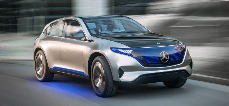 Abiarazi aurretik Mercedes-Benz EQC SUVren azken teaser-a iritsi da!
