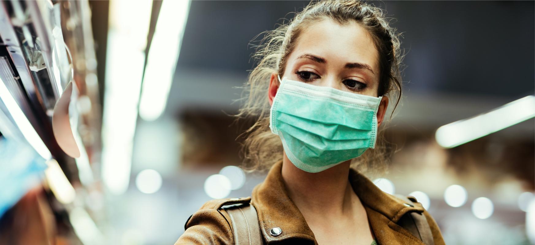 Ahoa eta sudurra estaltzeko betebeharra itzuliko da.  Coronavirus infekzioaren bigarren olatu batek behartuko du