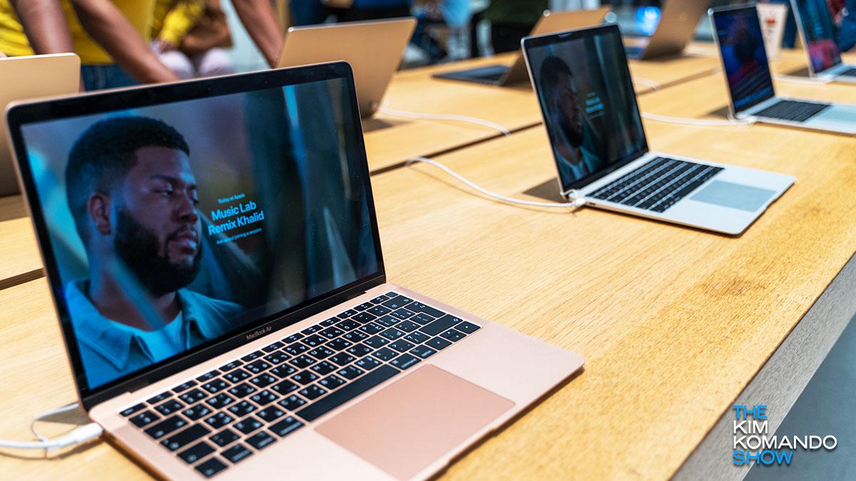 Alde horretatik kargatu bakarrik zure MacBook