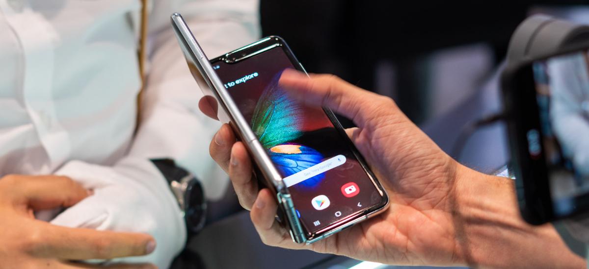 Android 10 Samsung-erako Galaxy.  Fabrikatzaileak adieraziko du nork lortuko duen eta noiz