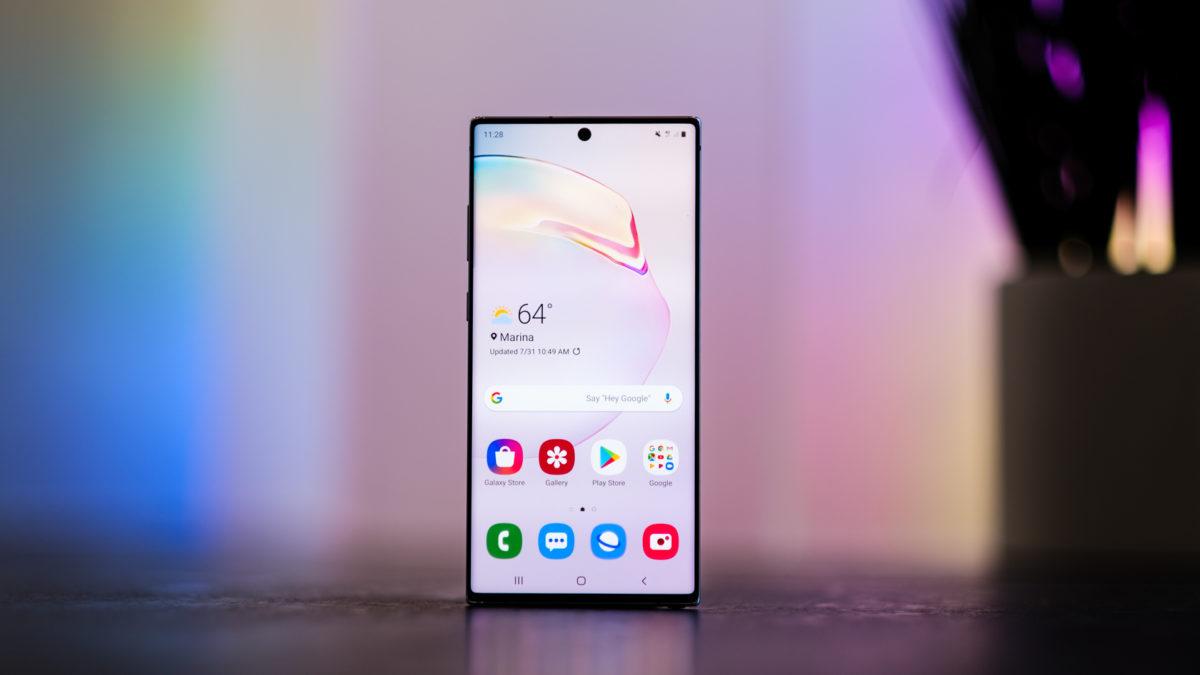 Android 10 lortuko dituzten Samsung ereduak!