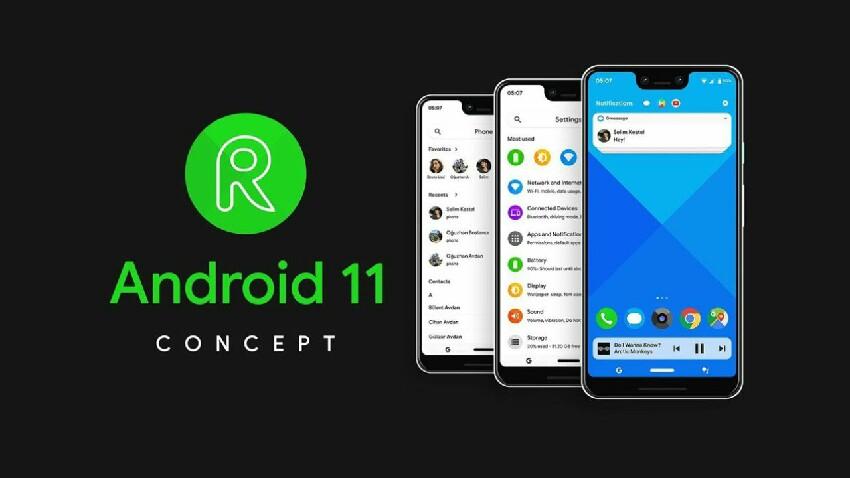 Android 11 modu ilunaren denboraren funtzioa erabiliko da?