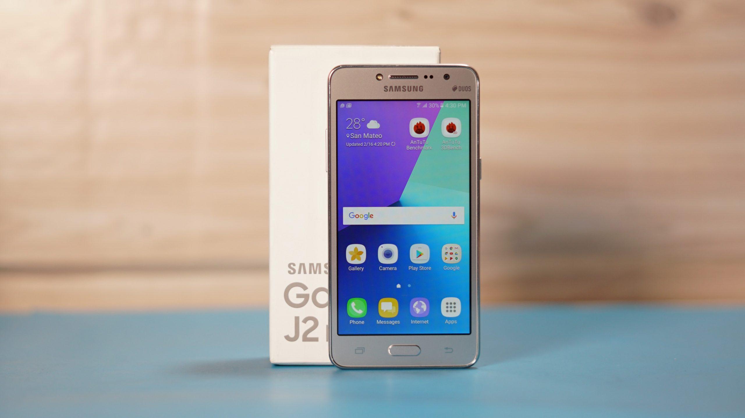 Android Go-n oinarrituta Galaxy J2 Core sartzen da!  Hemen dituzu ezaugarriak