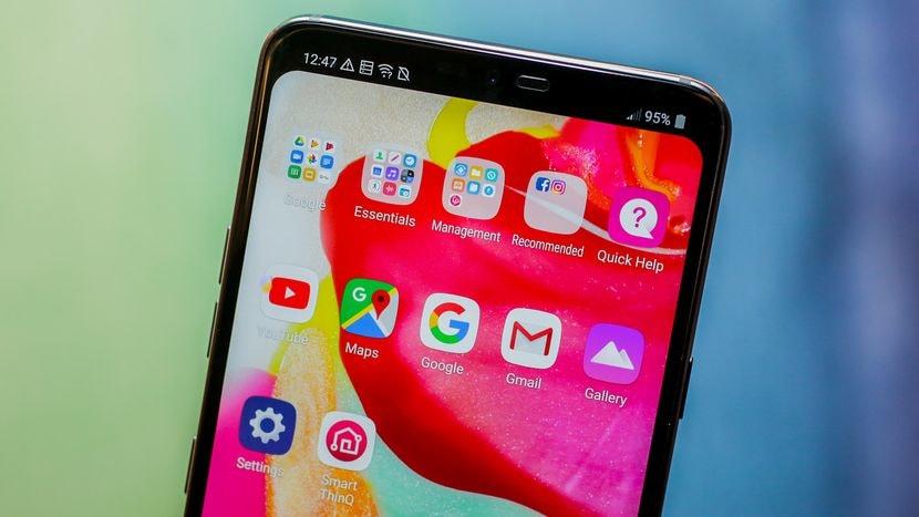 LG G7 ThinQ için Android Pie
