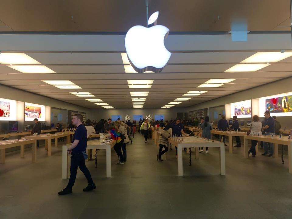 Apple Hego Koreako dendak irekitzeko prestatzen