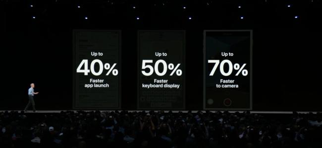 Apple IOS 12 erreklamazioak gailu zaharrak azkartuko ditu 1