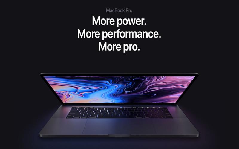 Apple Macbook Pro 2018-k zikinkeria eta hautsa erresistenteko teklatua izango du