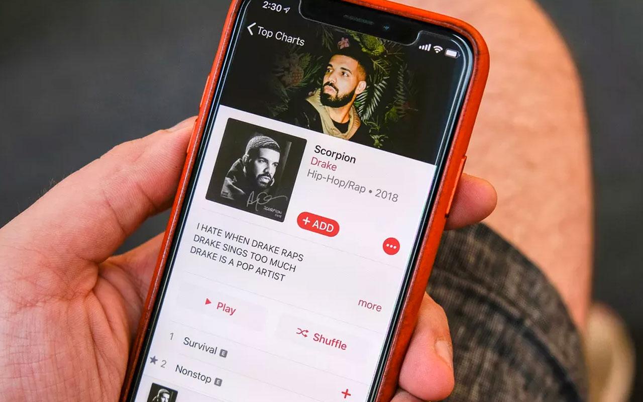Apple Musika 60 milioi erabiltzaile izatera iritsi zen!