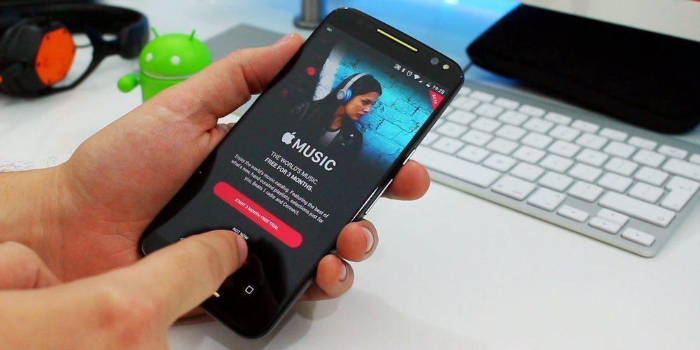 Apple Musikak gai iluna du Android-en!