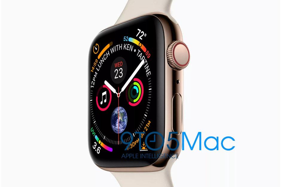 Apple Watch 4  Ihes egin zen!  Horra nola itxura izango duen!