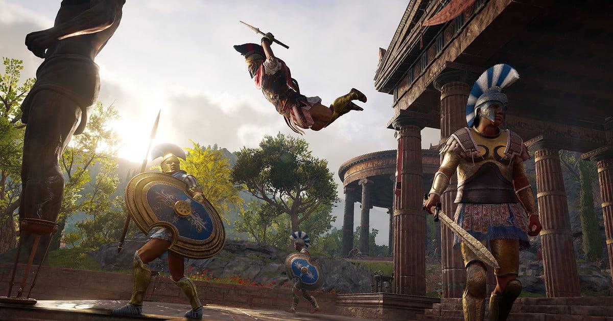 Assassins Creed Odyssey estreinatutako bideoa estreinatu zen