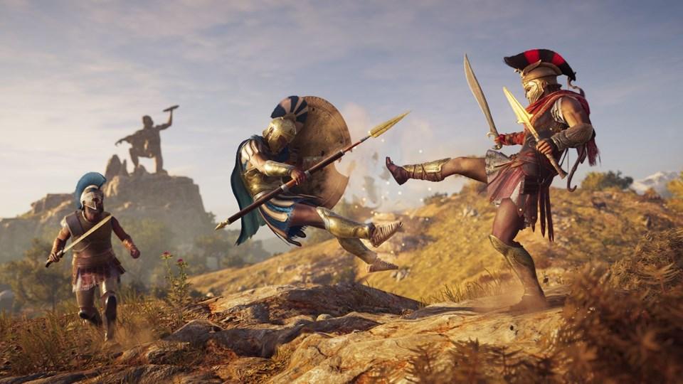 Assassins Creed Odyssey-rako jokatzeko bideo berria