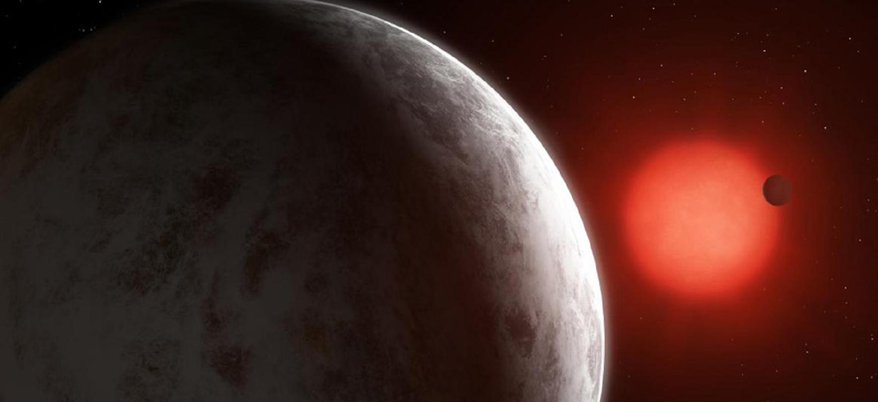 Astronomoek inguruko bi nano lur orbitan ibiltzen dira
