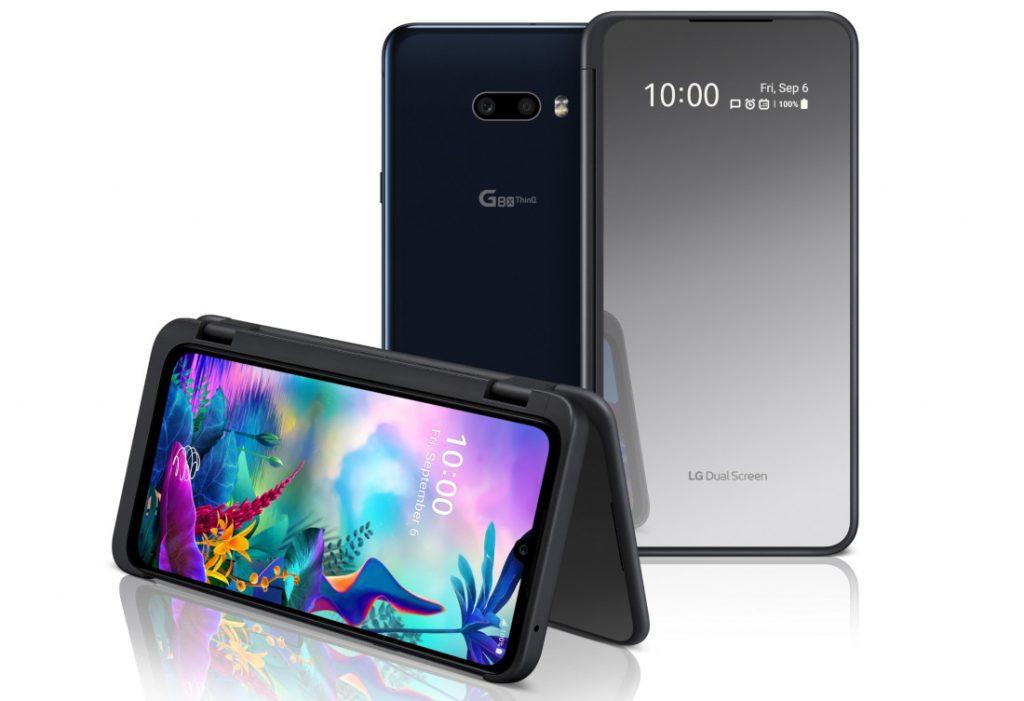 Çift ekranlı LG G8X