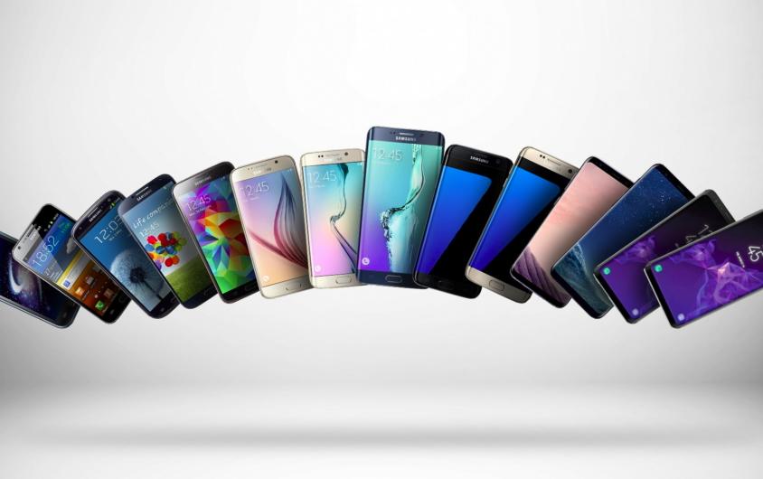 Atzo hasi eta gaur arte Galaxy S ereduak (Galaxy S - Galaxy S10)