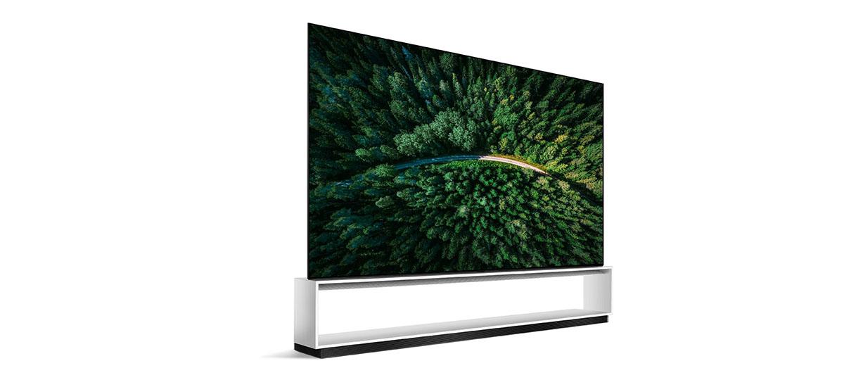 Azkenean LG-k 8K telebistak merkaturatzen ditu.  Zoritxarrez Polonian ez