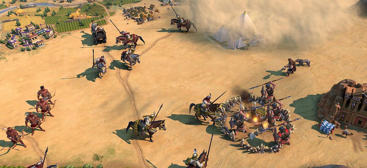Azkenean ikusi nuen.  Sid Meier's Civilization VI PS4 eta Xbox One-ra doa